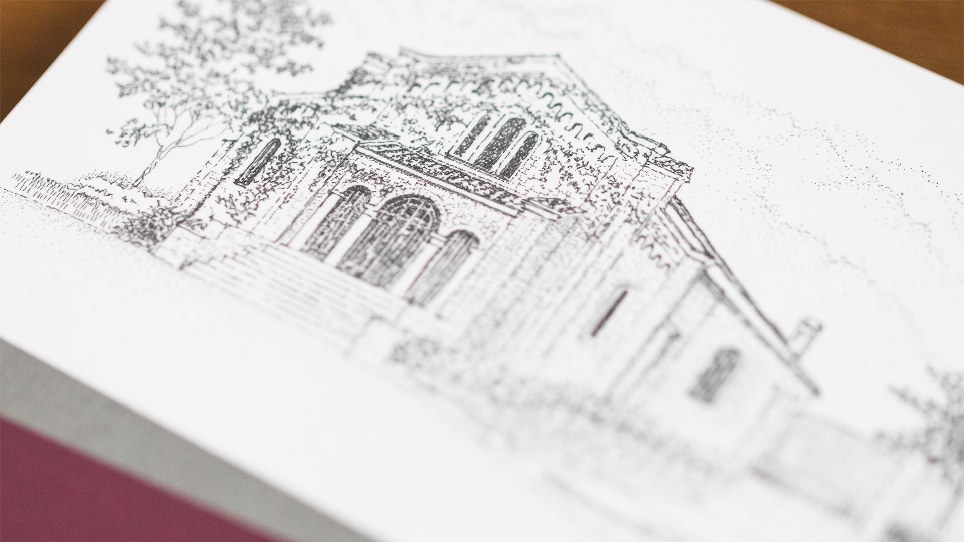 Print – Invitation Packet – Invite Cover (Venue Close-Up)