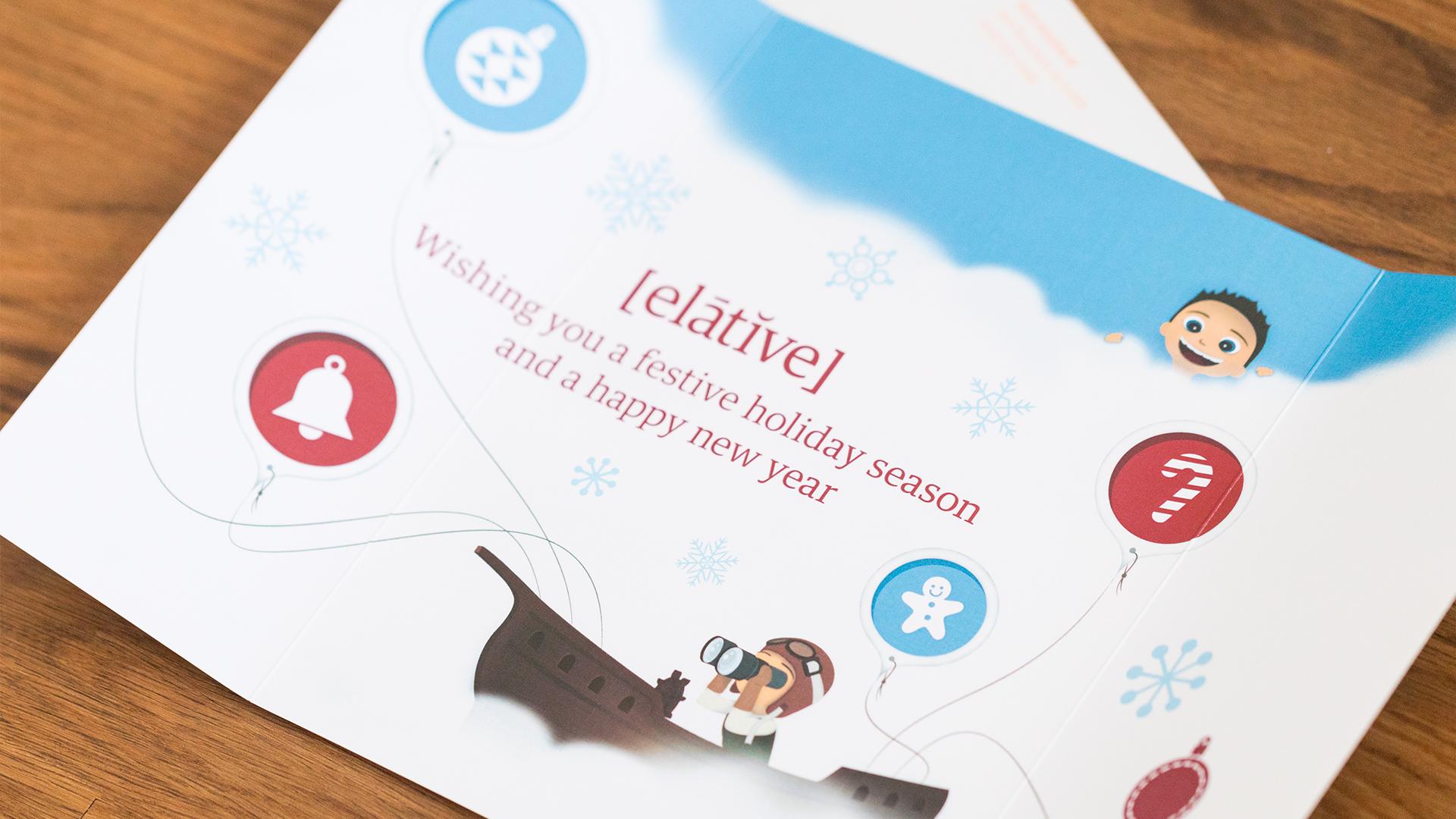 Print – Holiday Card – Inside