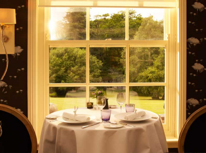 The Dining Room at the Chewton Glen Hotel & Spa