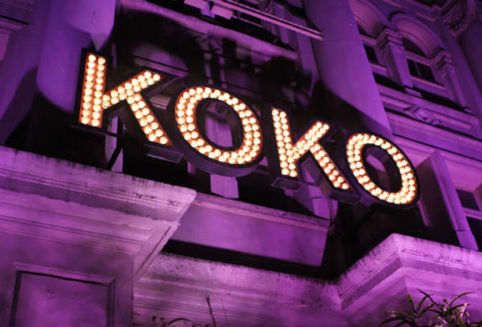 KOKO's dramatic entrance