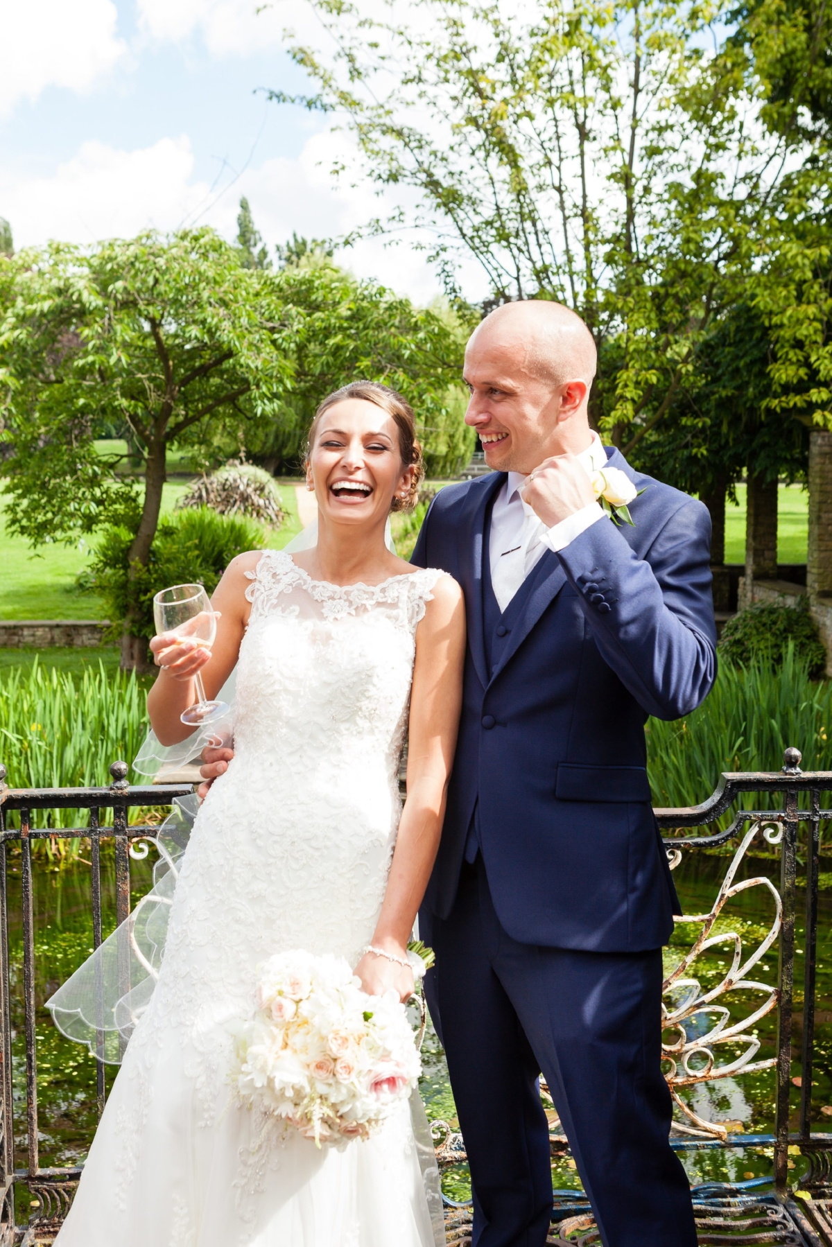 Bride and Groom's amazing reaction