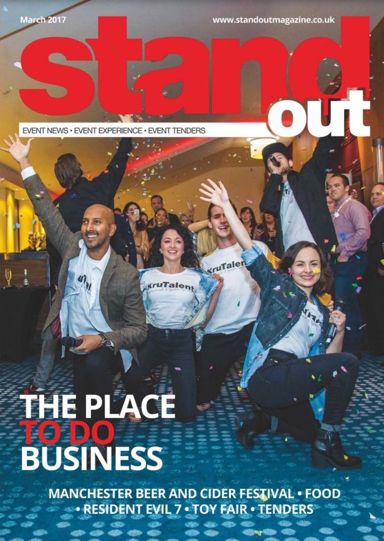 Our singing team on the front of StandOut