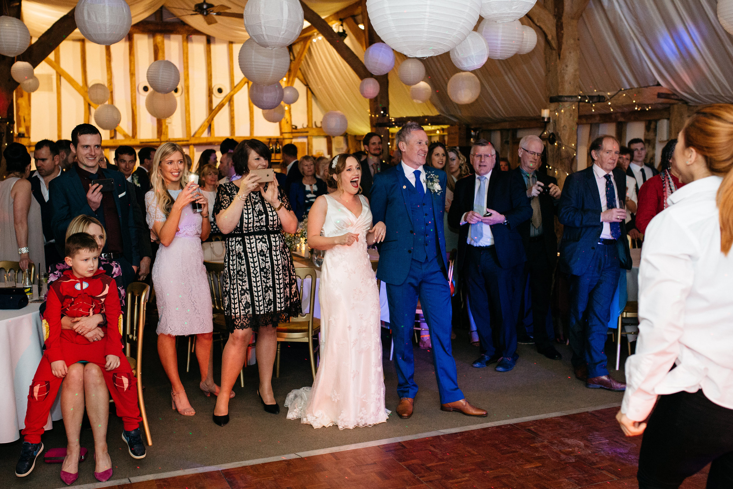 A surprise your guests will never forget! Photo courtesy of oliverphotography.co.uk/