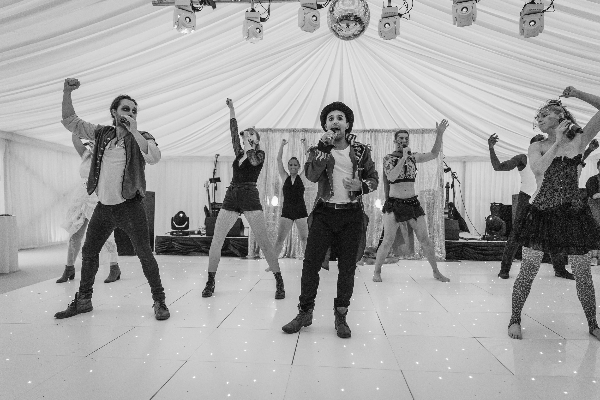 Acts can be adapted for weddings, parties, corporate events, proposals or birthdays!