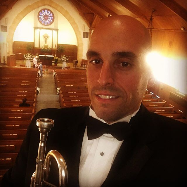 Had a great time playing a wedding at Corpus Christie Hasbrouck Heights today. #njwedding #weddingmusic #weddingmusician #trumpet #corpuschristi #njmusicians