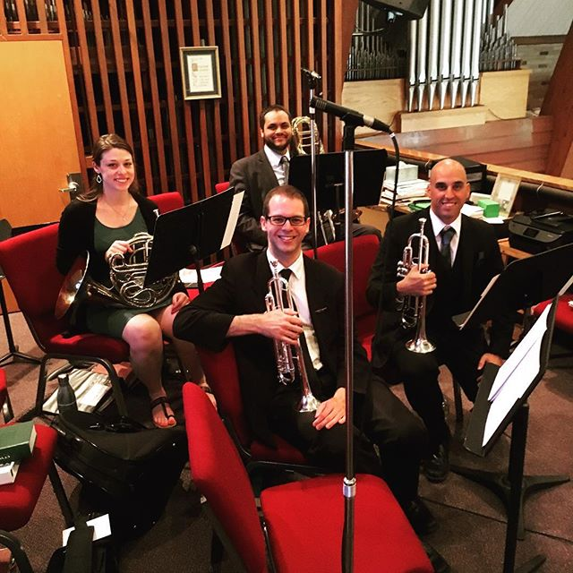 Congrats Don & Melissa! I was an honor performing for you wedding. #livemusic #wedding #njwedding #njweddingmusic #trumpet #njtrumpet#brassquartet