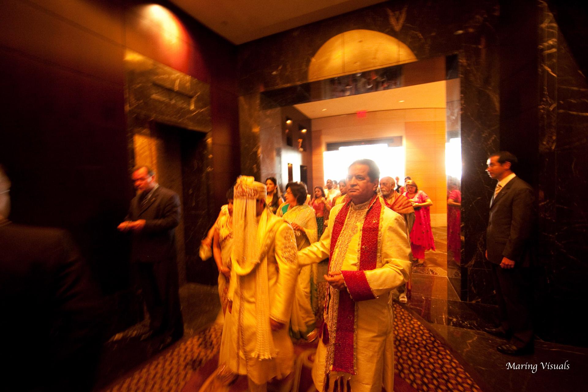Wedding at the Mandarin Oriental Hotel NYC