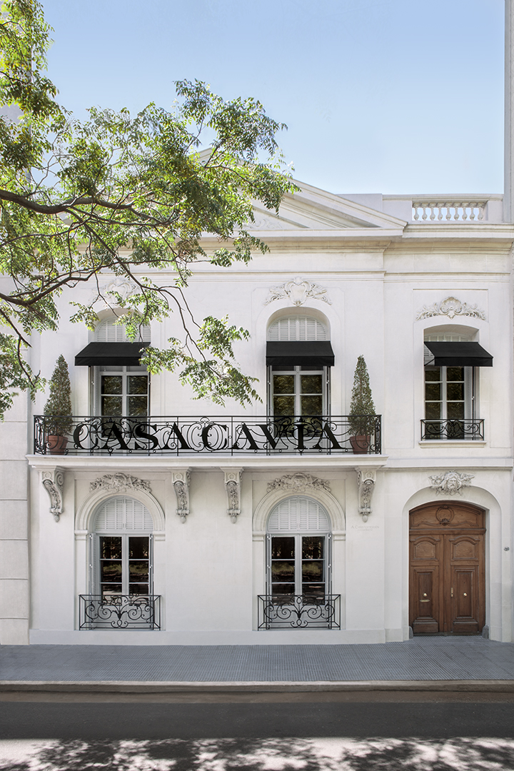 Fachada Casa Cavia