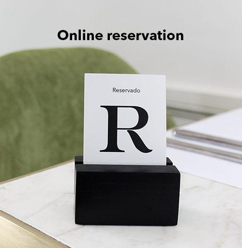 Online reservation