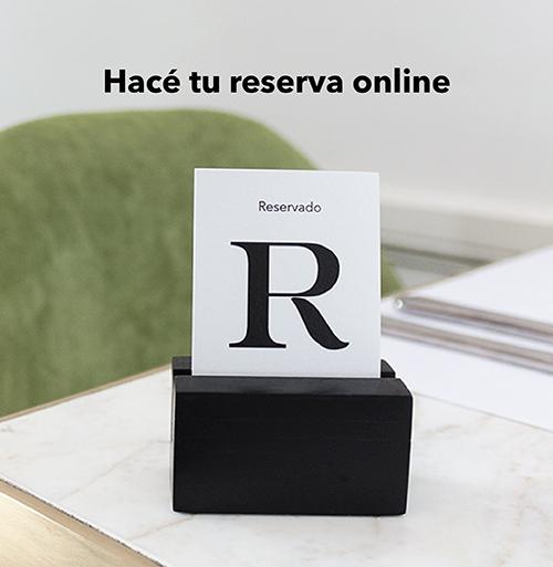 Hacé tu reserva online en Casa Cavia