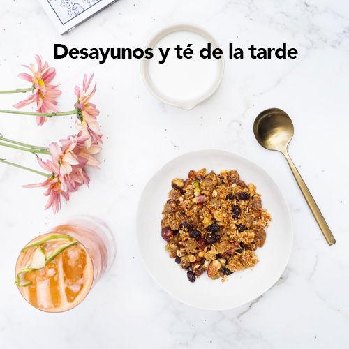 Desayuno y té de la tarde