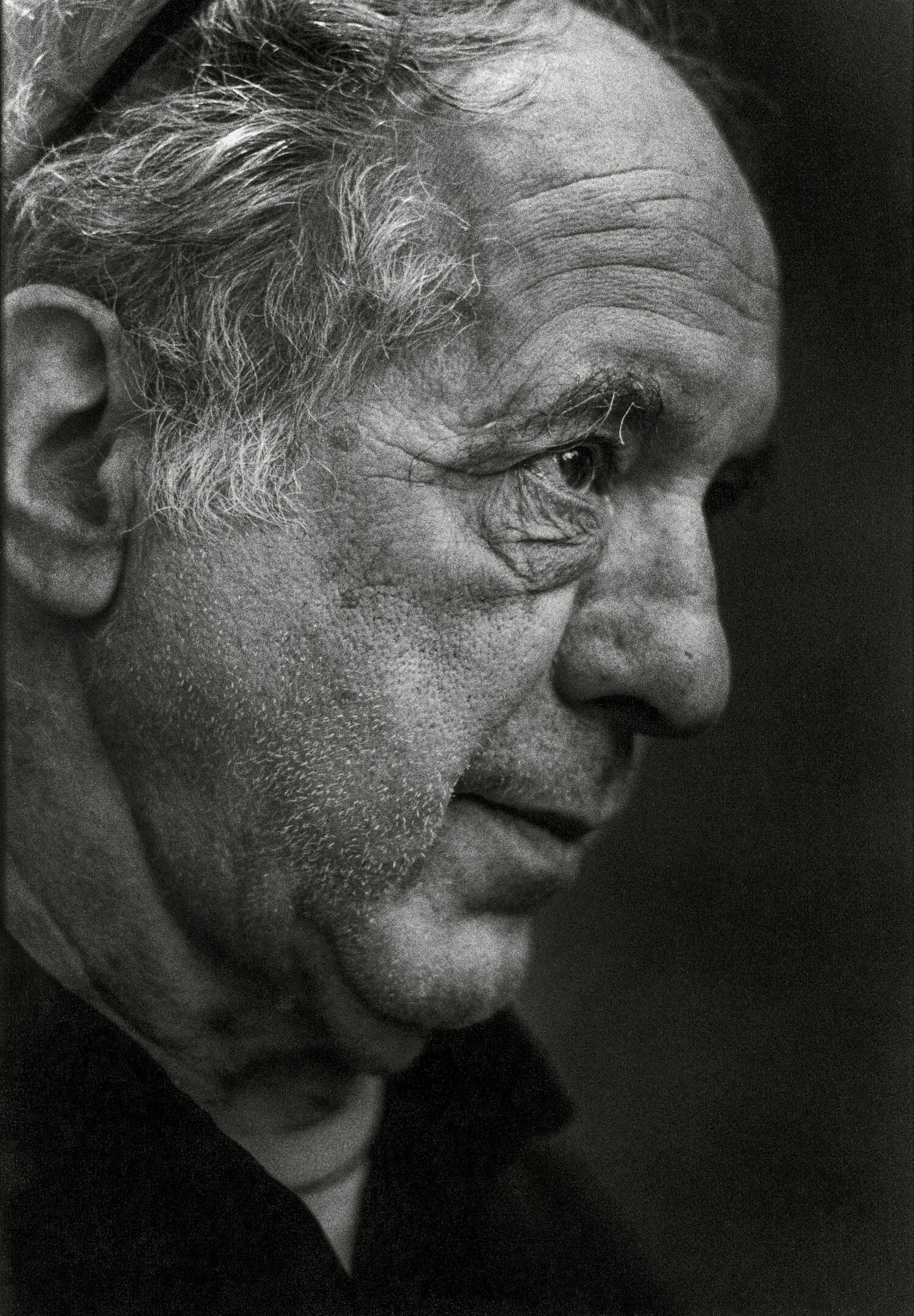 Robert Frank,1924-2019 - Robert Frank died on September 9, 2019 at the age of 94 years. Robert Frank was one of the most important American artist whose photographs captured the lives of everyday people and influenced a generation with his raw and evocative styleI have photographed him for my book Faces of Photography on February 11, 2000 in Zurich.