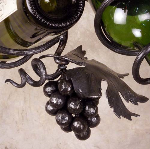 Wine Rack Grape Detail