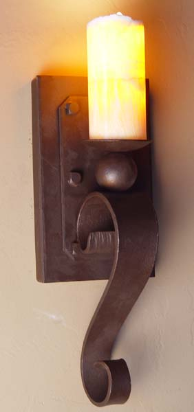 Old World Sconce