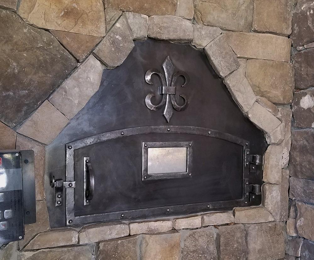 Custom Pizza Oven Door, Baton Rogue