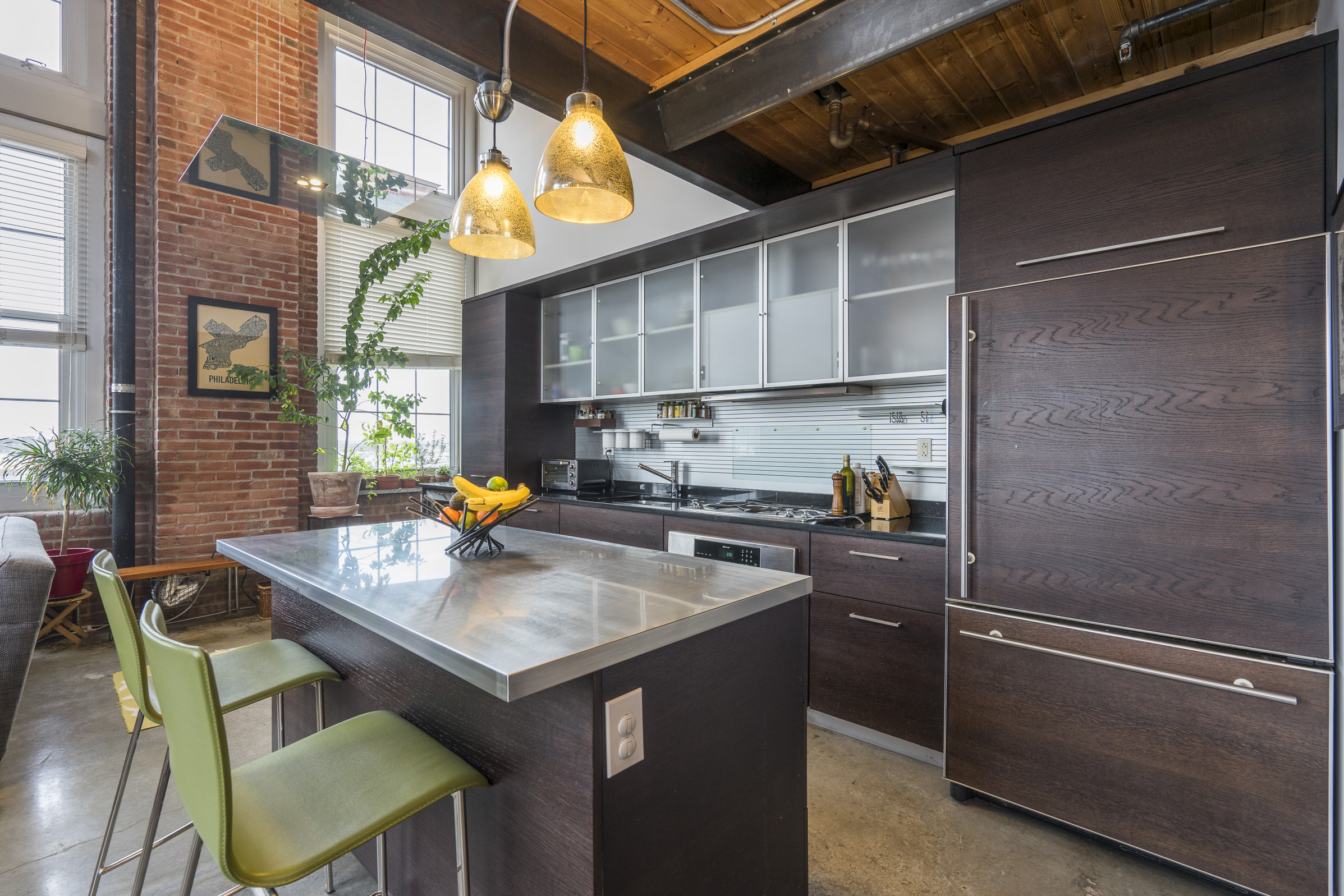 Property Of The Week Design Inspired Queen Village Loft 1101 Washington Ave 706 Philadelphia Pa 19147 Alcove Media Real Estate Photography