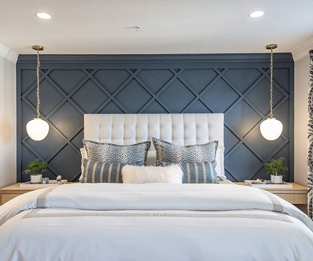 This accent wall we recently photographed is gorgeous! . . . #accentwall #phillyrealestate #home #realestateagent #delawarerealestate #delawarerealtor #njrealtor #njrealestate #homesweethome #interiordesign #instahome #instalike #instalove #househunting #designer #bedroomdecor #bed #bedroomgoals #philly #philadelphiarealestate #bedroomideas