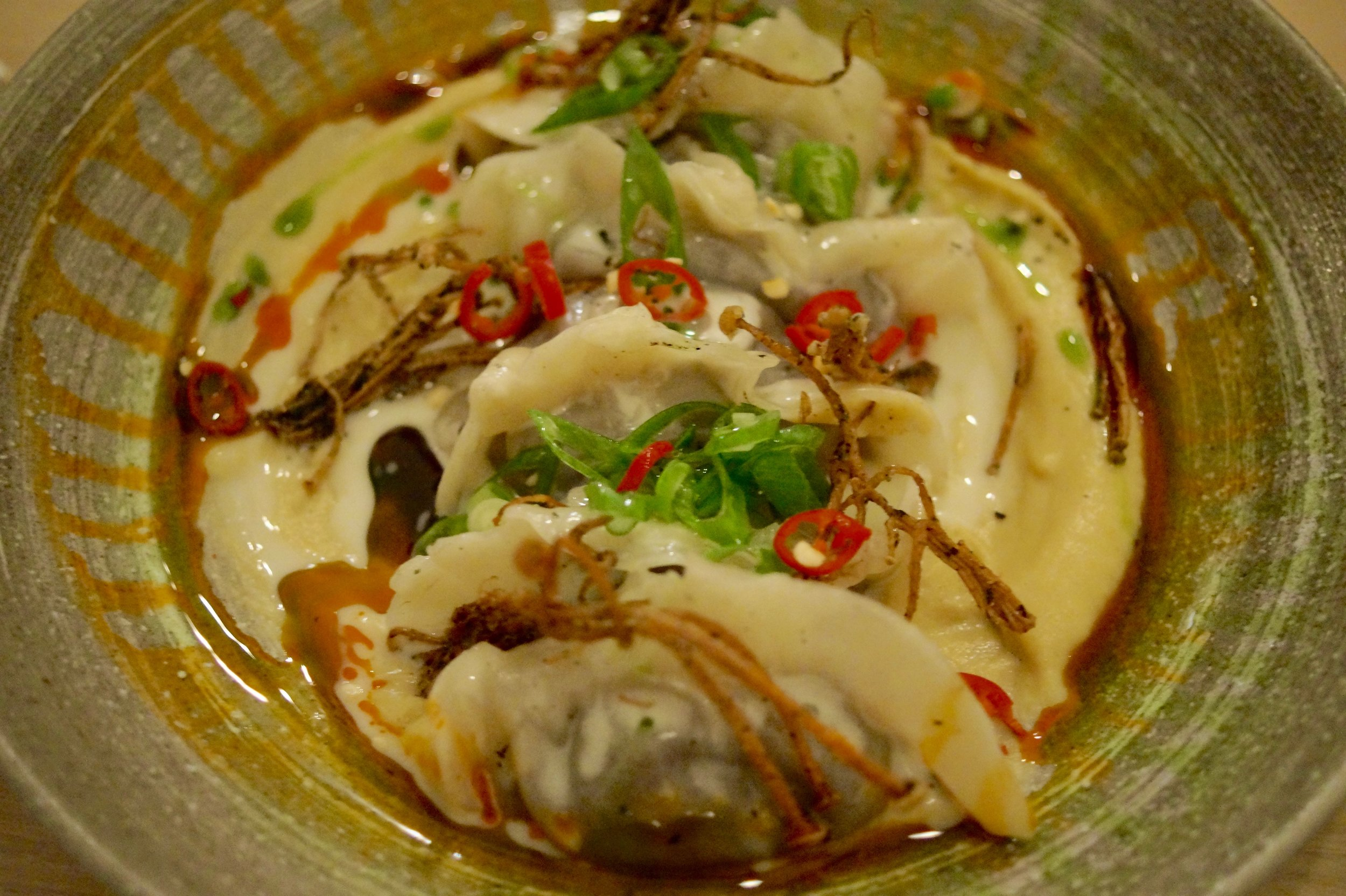 (NEW) Confit Chicken & Shrimp Gyoza