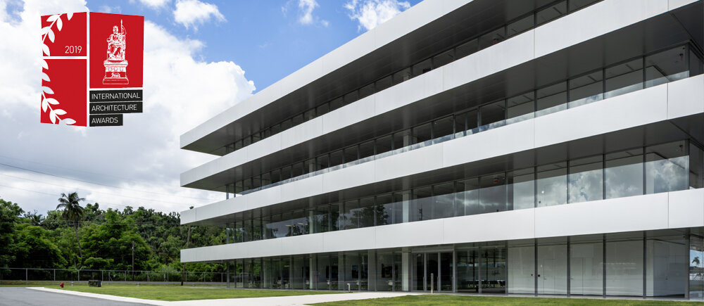 Puma Energy Caribe HQ awarded International Architecture Award 2019 by  The Chicago Athenaeum International Museum  together with  The European Centre for Architecture Art Design and Urban Studies