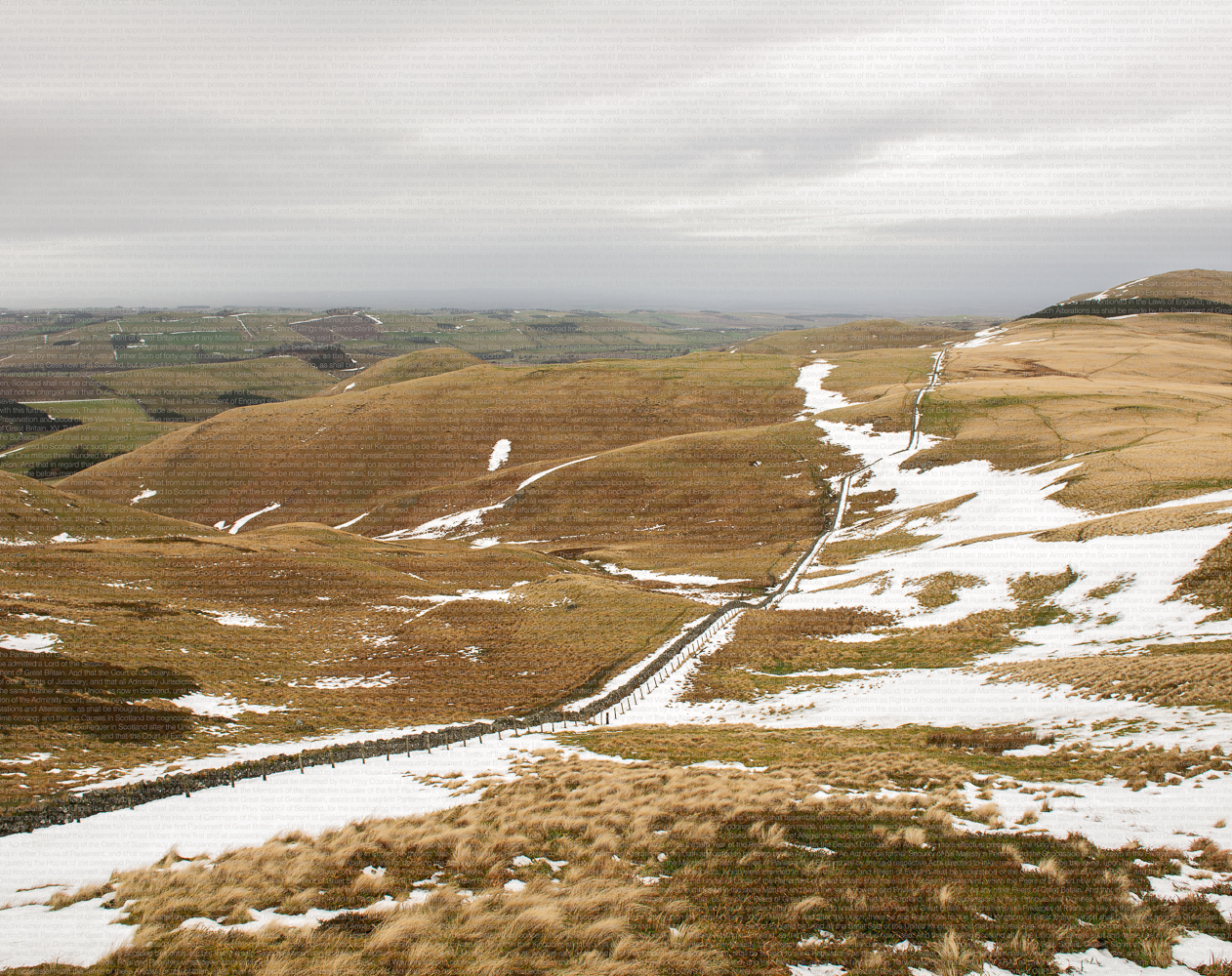 Act of Union 1707, Pennine Way 2013