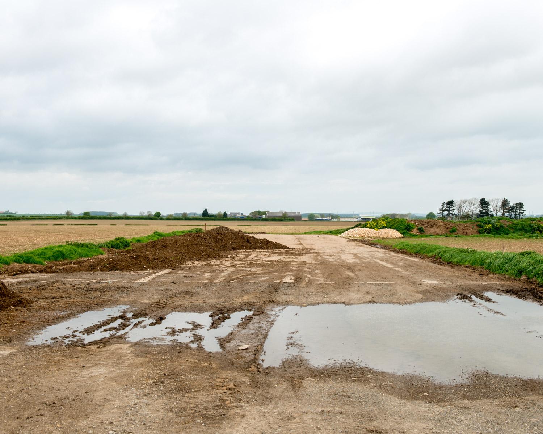 Hardstanding Near Dispersal Huts, Elsham Wolds, Lincolnshire 2015