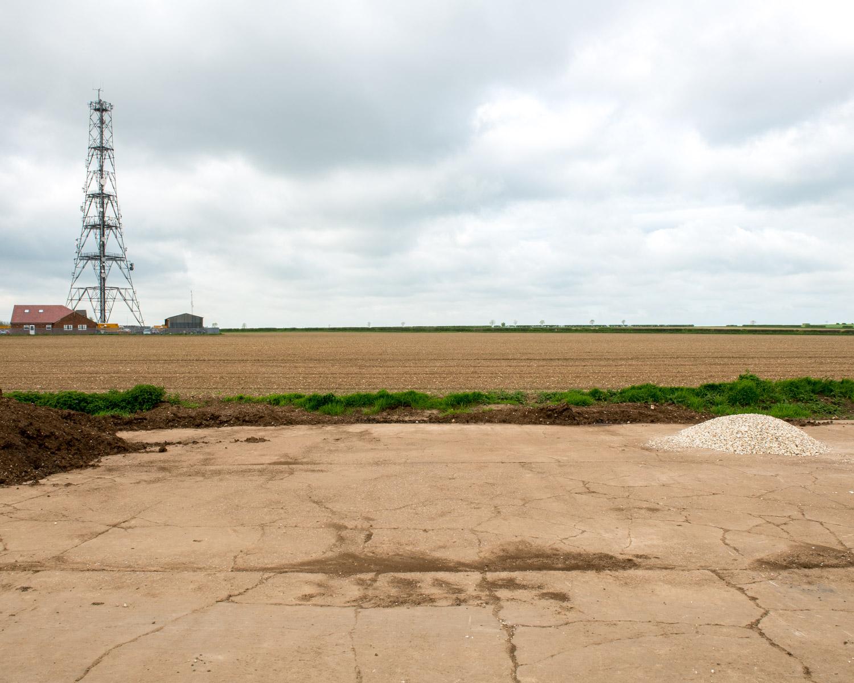 Perimeter Track For Hardstandings, Elsham Wolds, Lincolnshire 2015