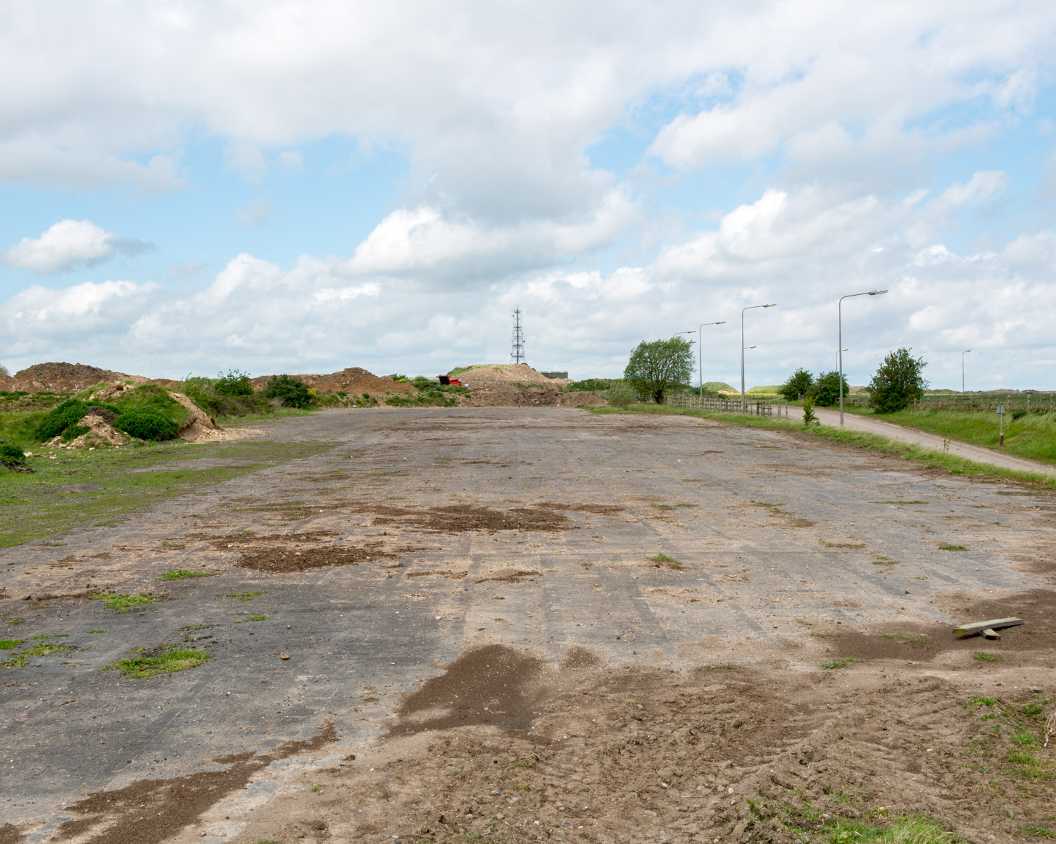 Runway 318 North, Elsham Wolds, Lincolnshire 2015