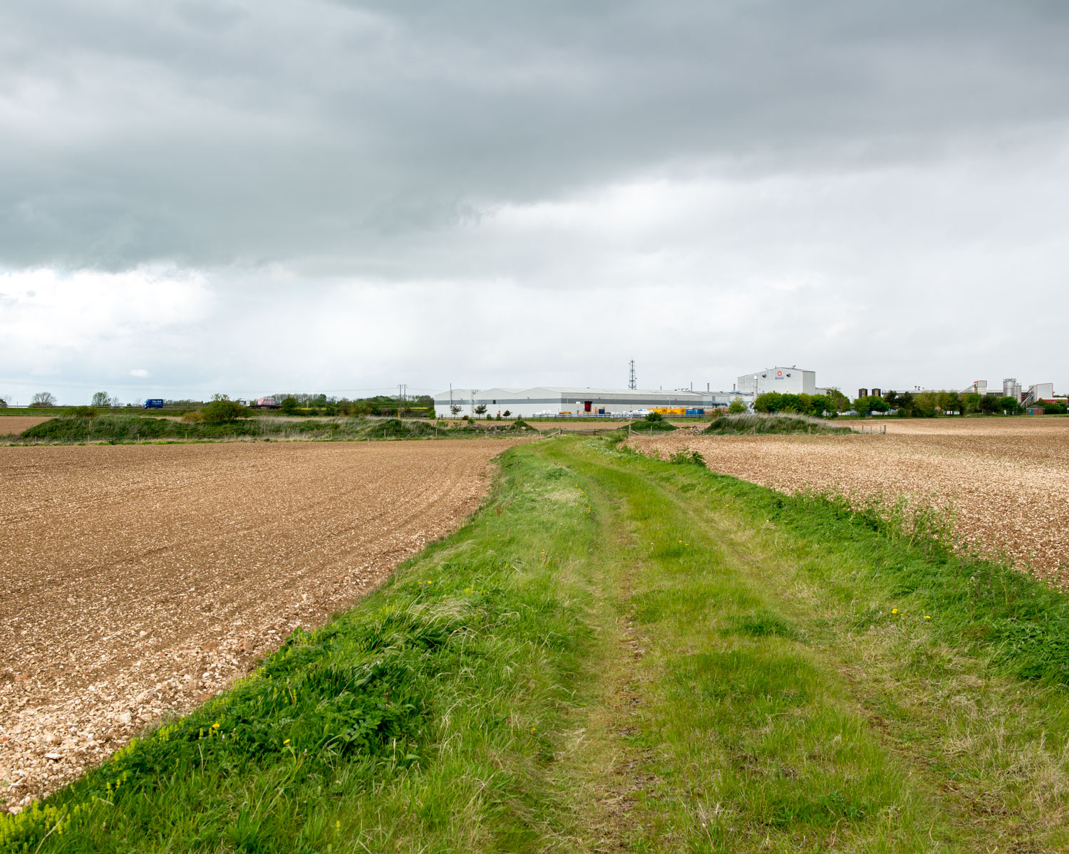 Main Runway 318 North, Elsham Wolds, Lincolnshire 2015