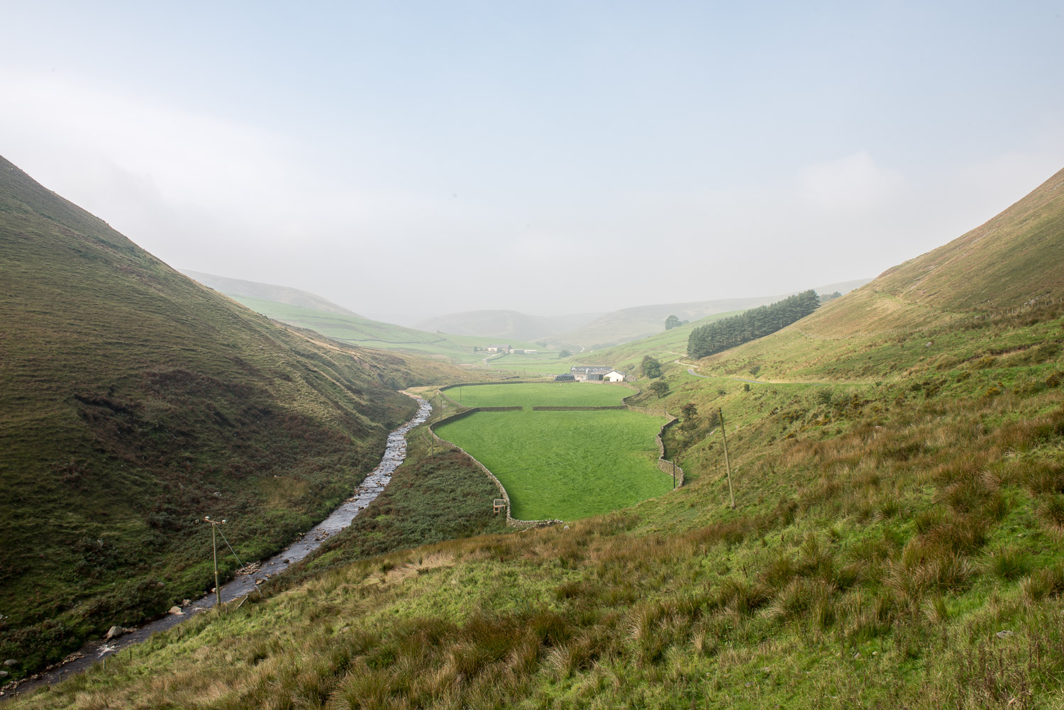 Brennand Farm, Forest of Bowland, Lancashire - September 2016