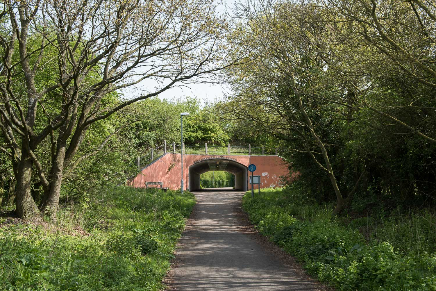 Watling Street Cycle Underpass, Route 52, A5, Warwickshire - April 2015