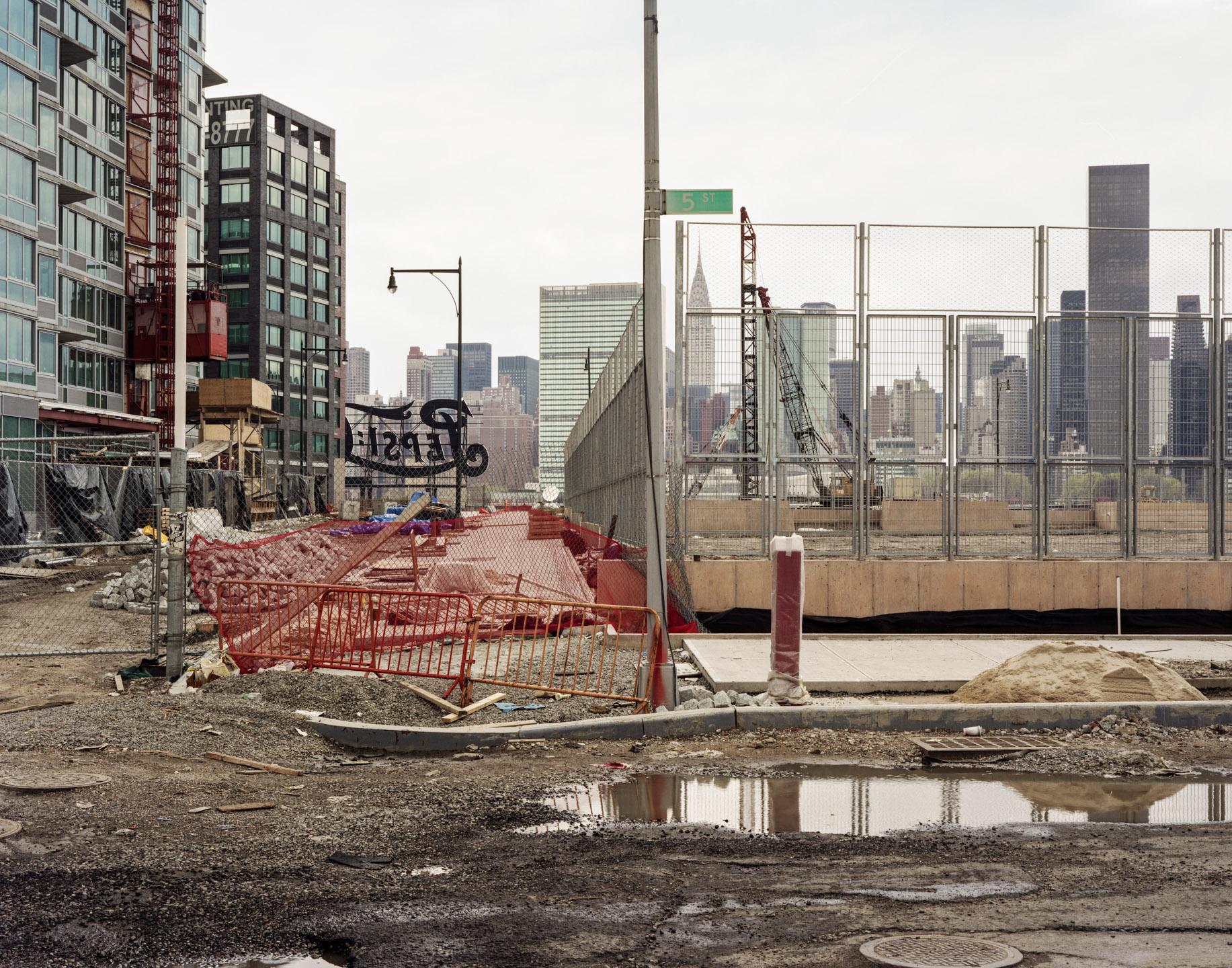 Condo Construction, Long Island City, New York, 2008