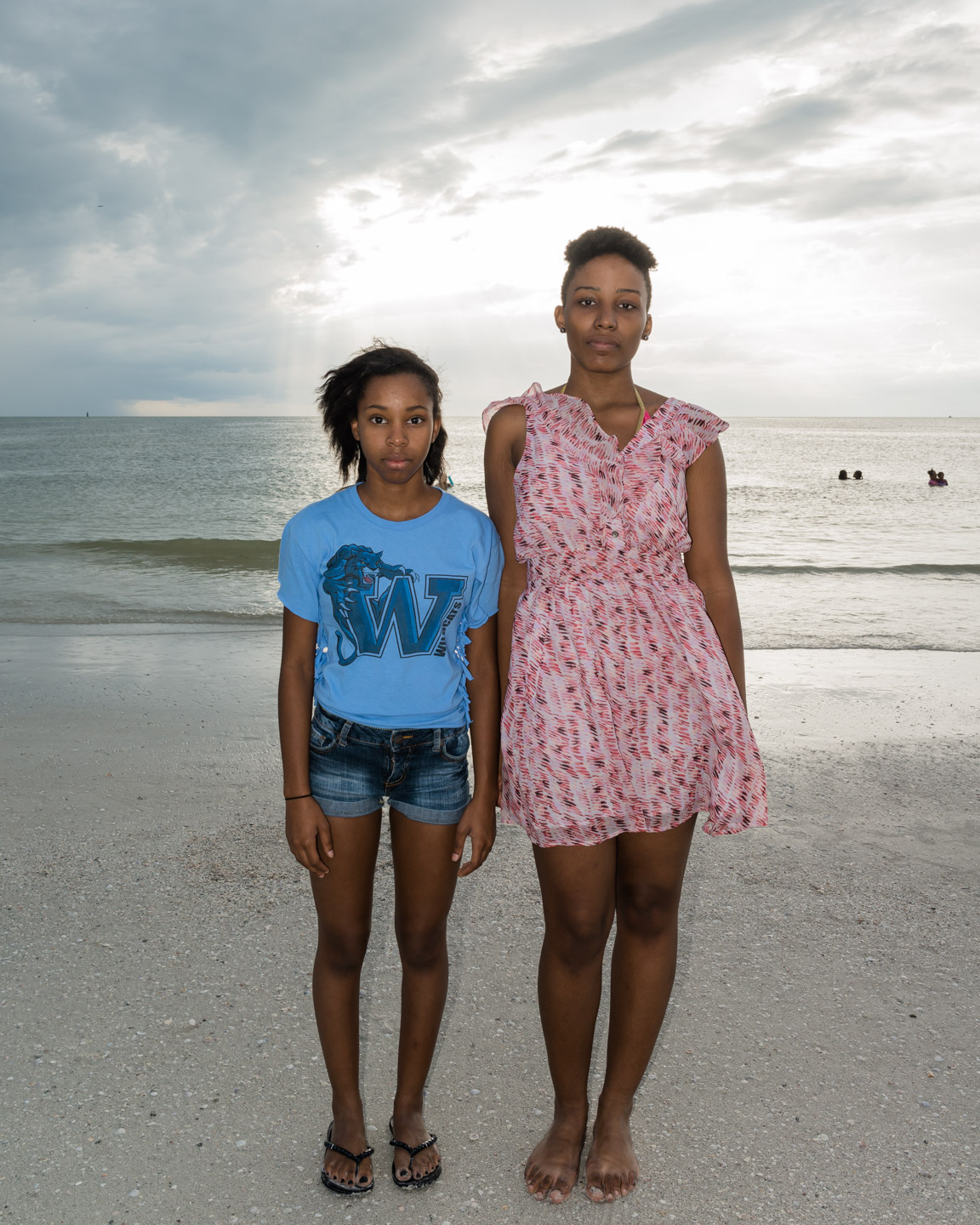 Brianna and Jessica, Clearwater Beach