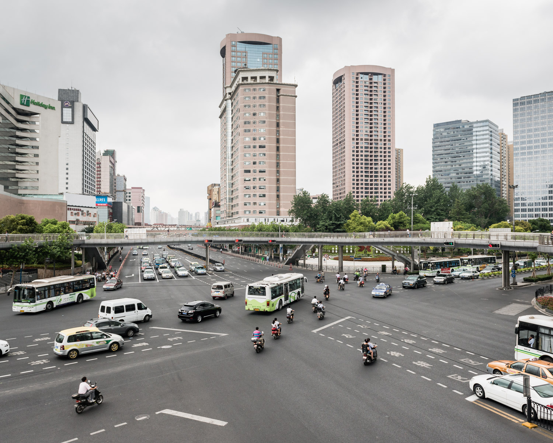 Shanghai Street Scene, China, 2012