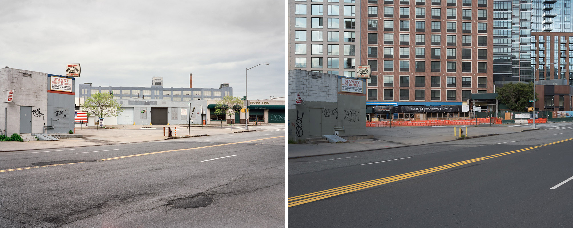 Thomson Ave., Long Island City, New York, 2005/2017