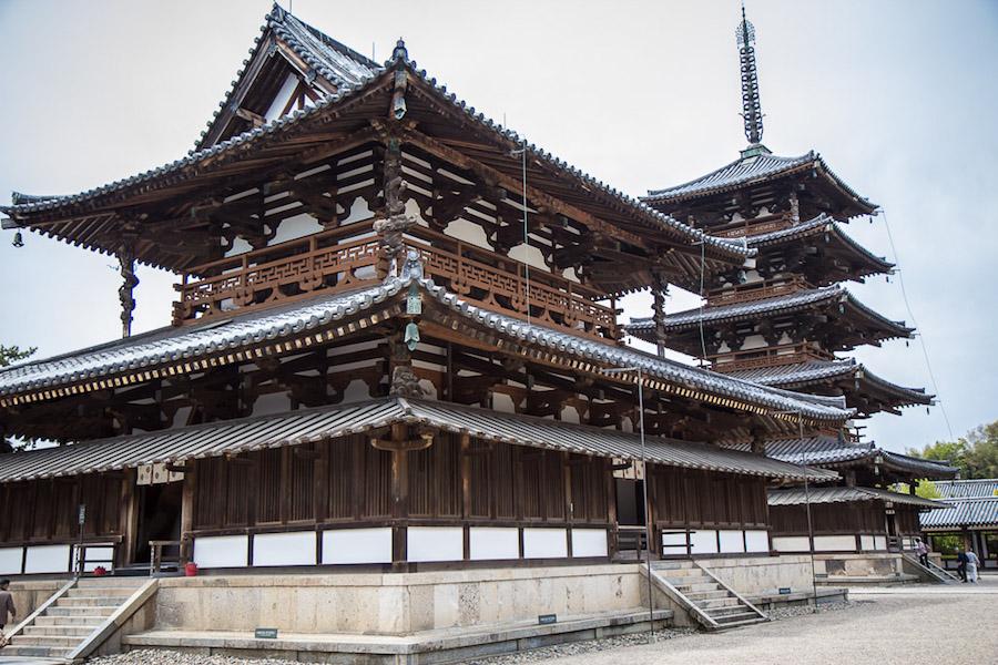 Horyuji Temple Japan
