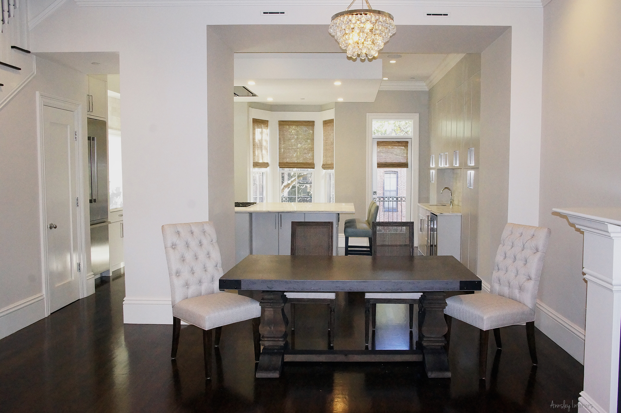 Angela Raciti Interior Design South End Town Home