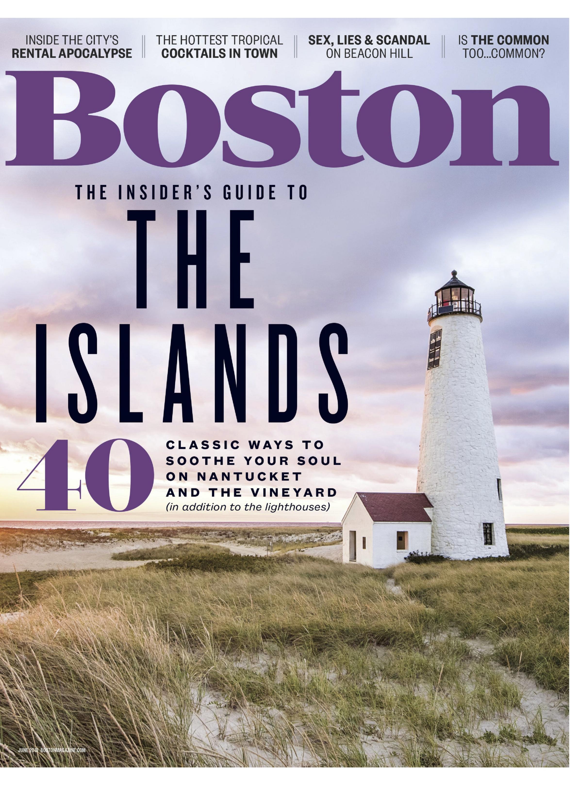 Boston Magazine June 2018