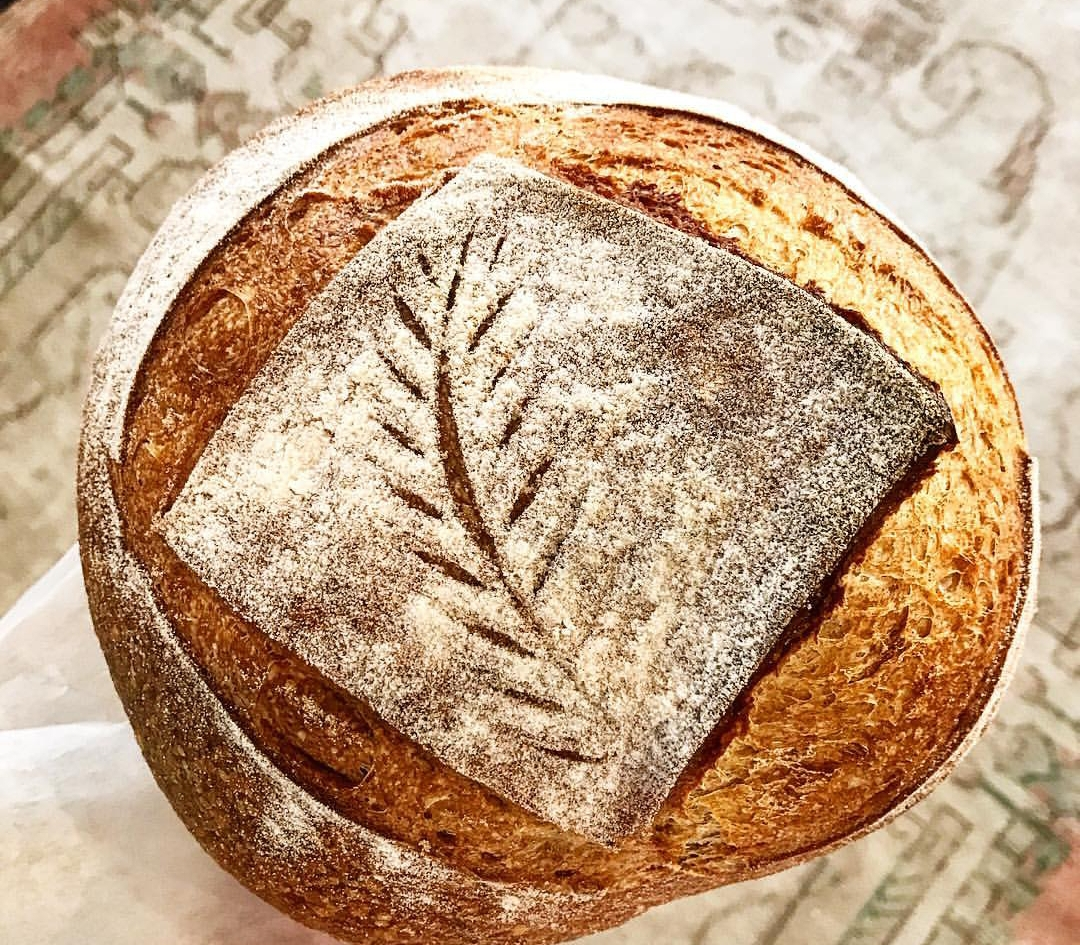 Naturally Leavened Breads - Our selection varies day to day. We always offer fermented sourdough but also make rye, olive, country, whole wheat and fruit and nut.