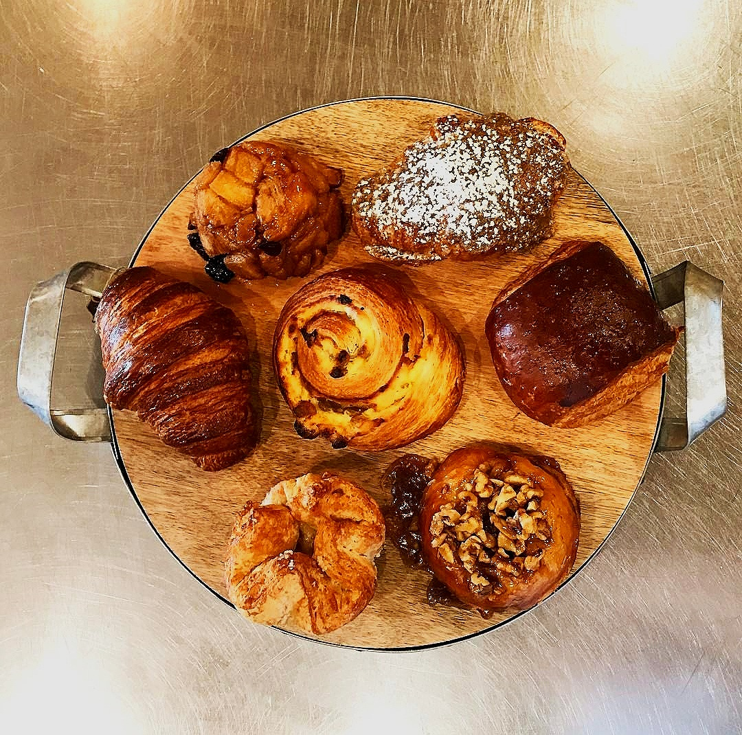 Breakfast Pastries - Almond croissants, kouign amann, frosted cinnamon buns, apple cider doughnuts, monkey bread, muffins, scones, Homemade pop tarts and so much more