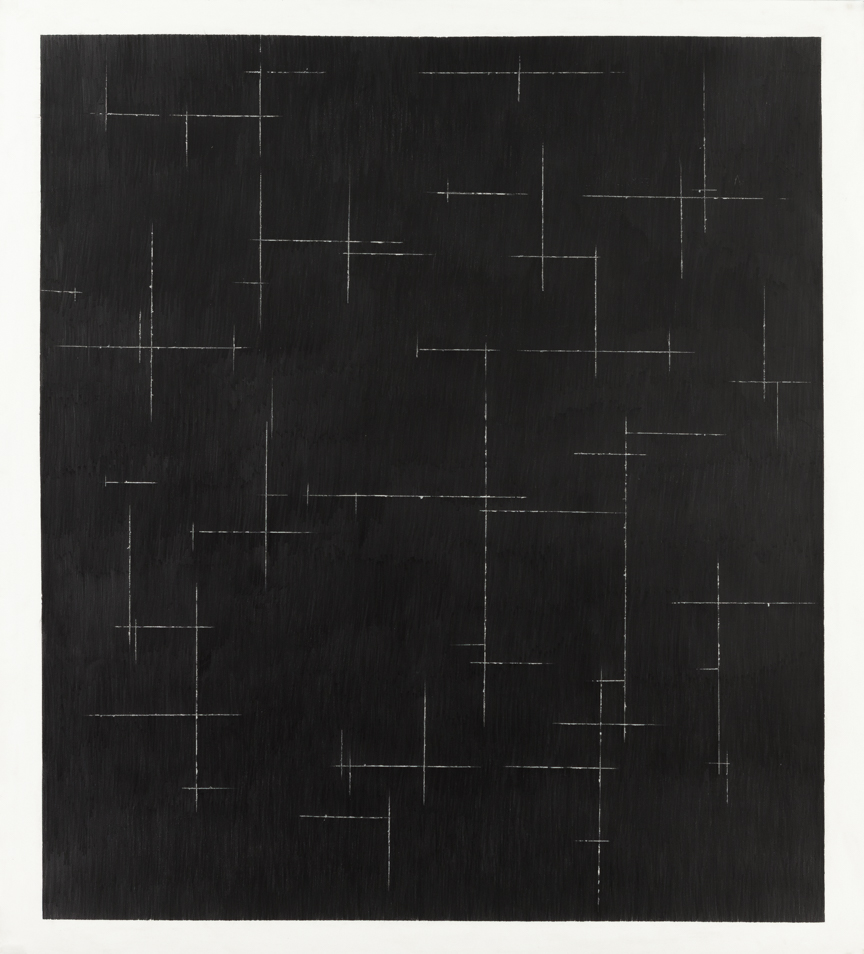 Untitled, 2012, graphite on paper, 51 x 47 inches/ 130 x 120 cm