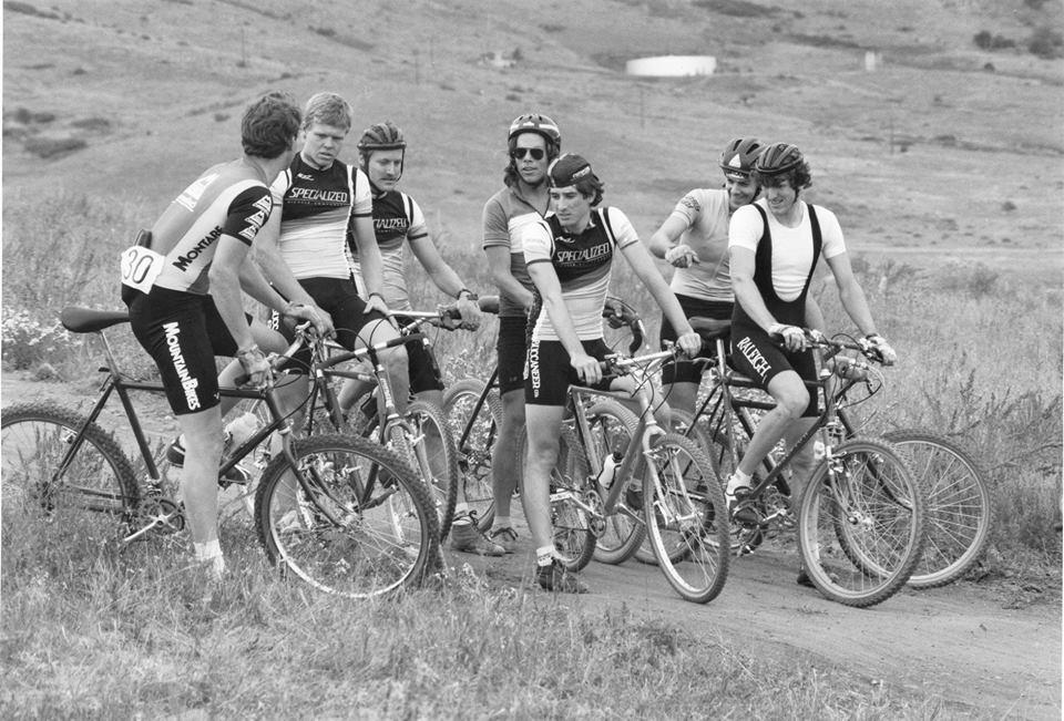 The early days of Sandy mountain biking.