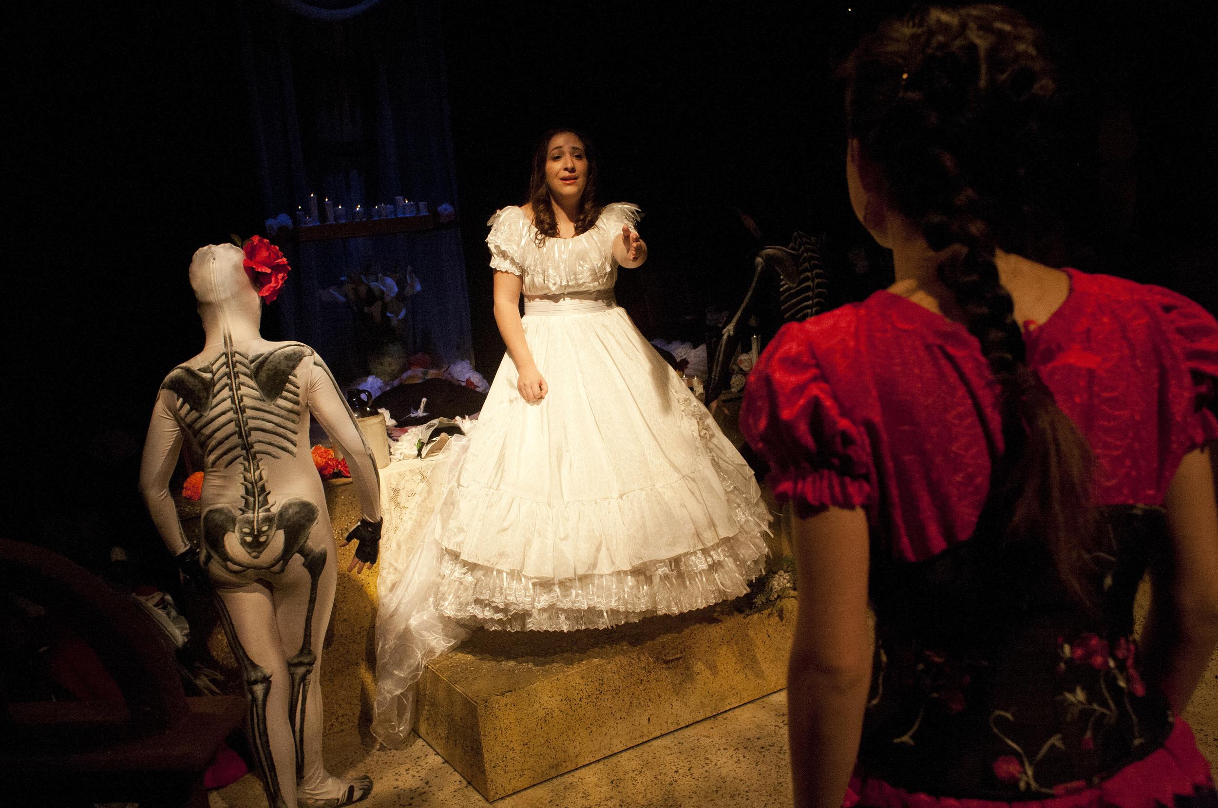 Gabriela's Statue Dress  La Perdida  Costume Designed by Kendra Rai