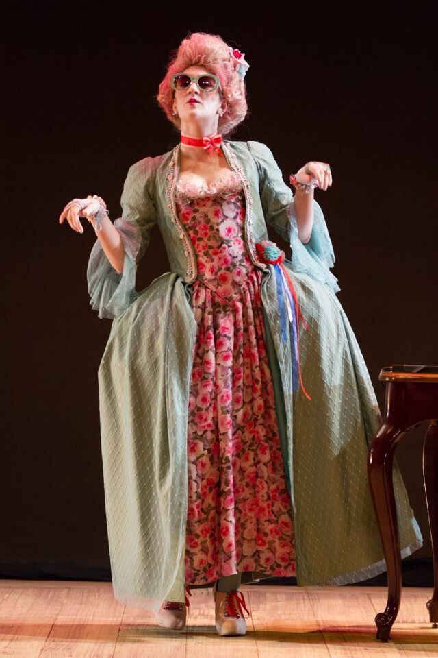 Marie Antoinette  The Revolutionists  Spring 2015 Costume Design by Aryna Petrashenko