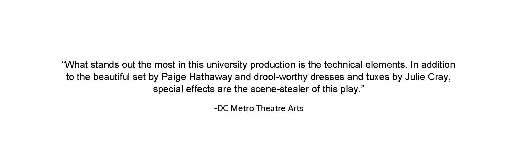 To read the full review, go to:   http://dcmetrotheaterarts.com/2015/11/20/big-love-at-the-catholic-university-of-america/
