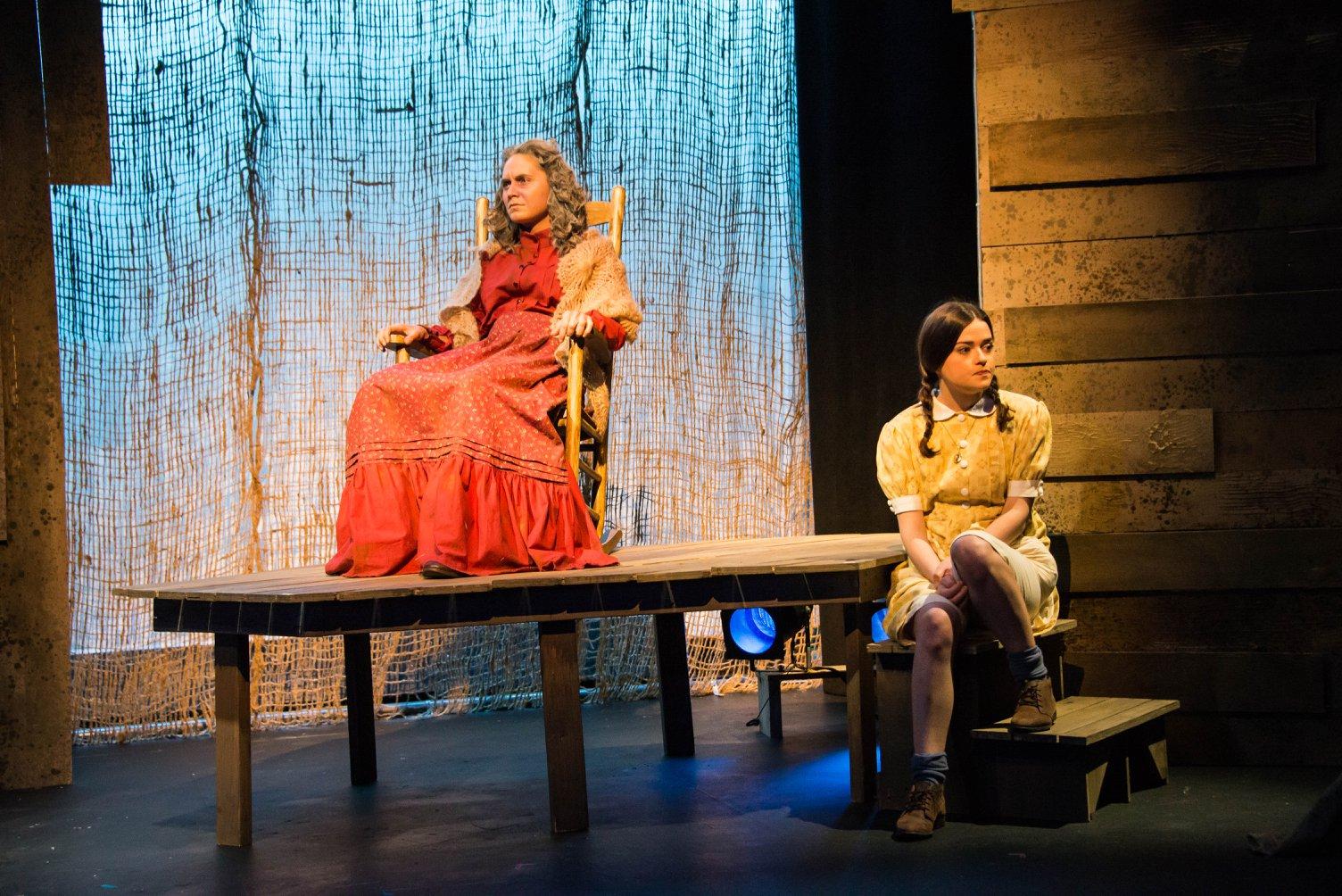 River Like Sin  CUA Drama Dir. Lee Cromwell Costume Design: Kateri Kuhn