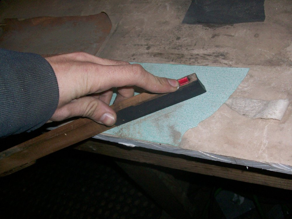 milton player key sanding