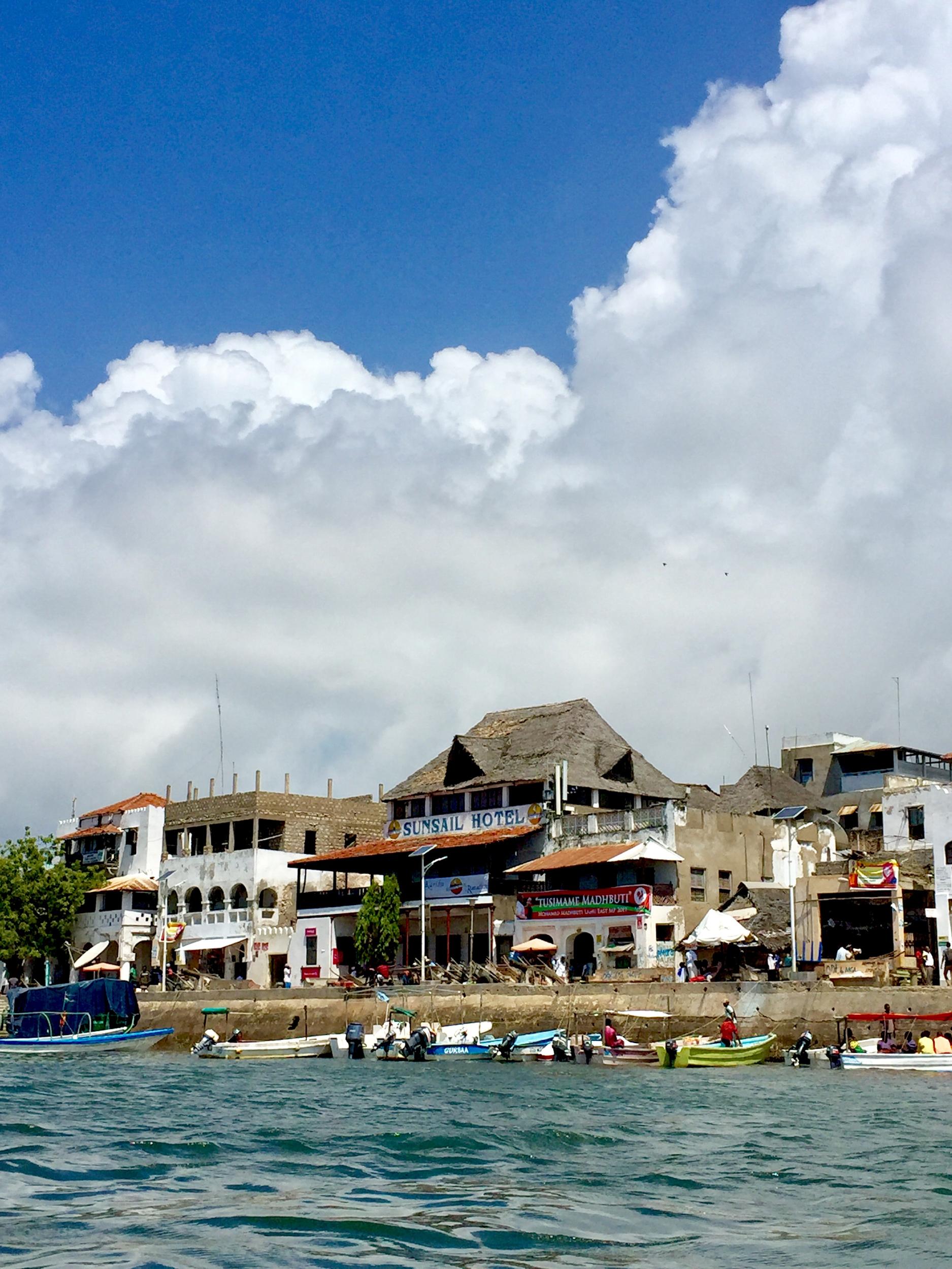 Lamu Island, the headquarters of Lamu County and site of Kenya's oldest town
