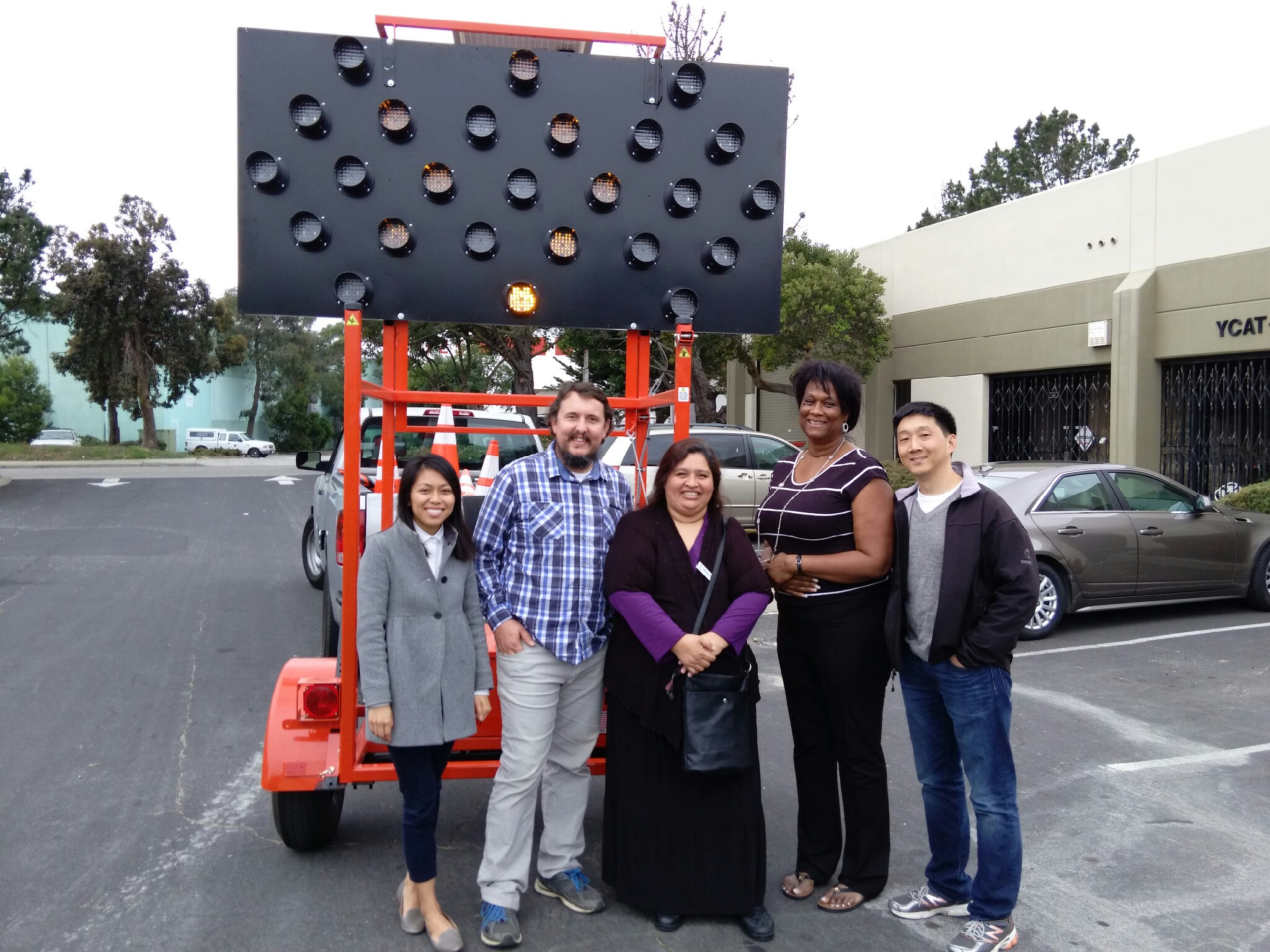 Yolanda Jones YCAT-C Construction Management    Loan Uses: Solar-powered signboard for use with CPMC Van Ness Contract