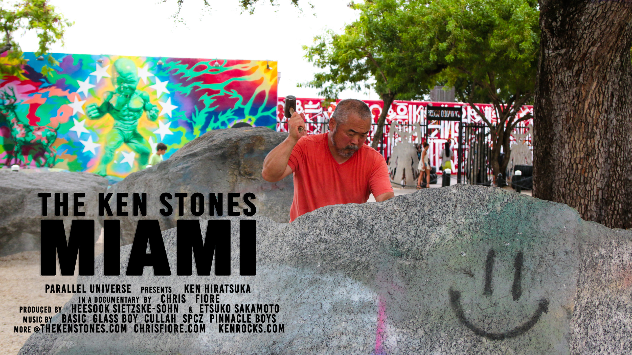 The Ken Stones: Miami Poster_Smiley