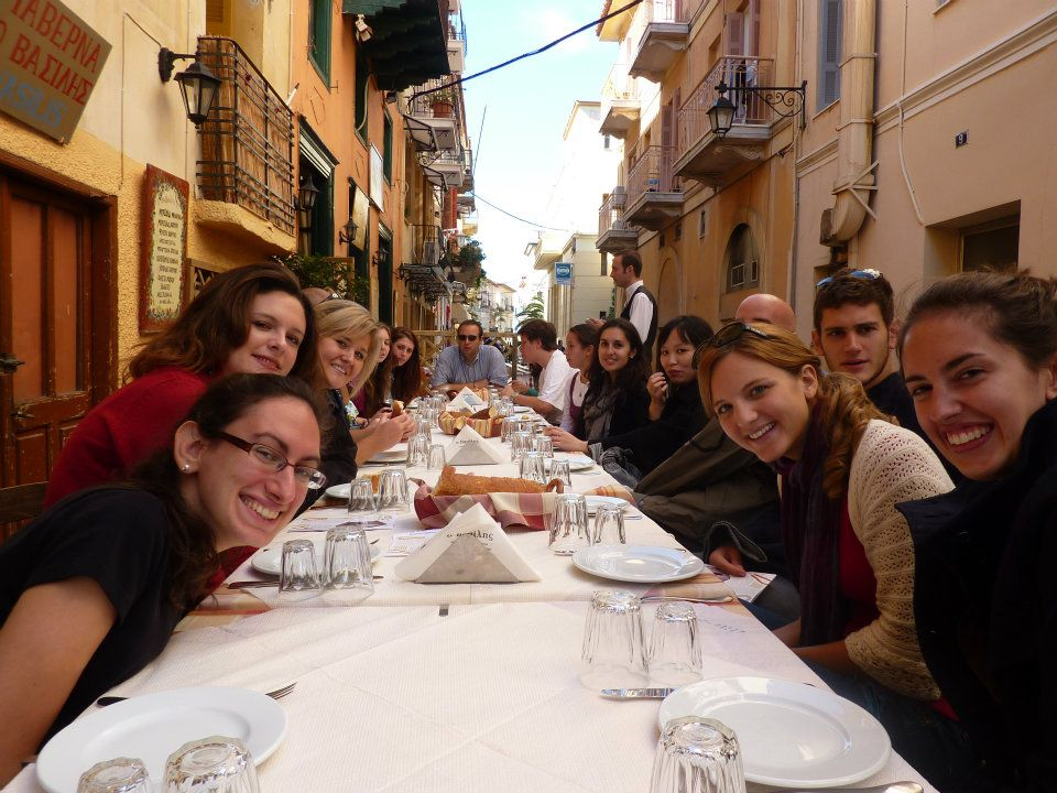 Friends from DEREE (American College Greece)
